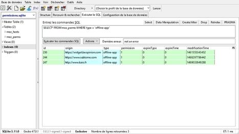 Les données hors connexion dans Firefox   Outils perso 2.0   Scoop.it