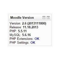 Moodle plugins directory: Moodle Version Block | Moodle gems | Scoop.it