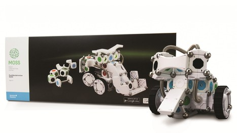 Gadgets We Love: Modular Robotics MOSS Exofabulatronixx 5200 Kit | Heron | Scoop.it