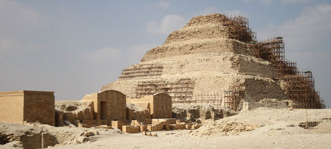 Egypt's 'collapsing' pyramids : Past Horizons Archaeology | Archaeology News | Scoop.it