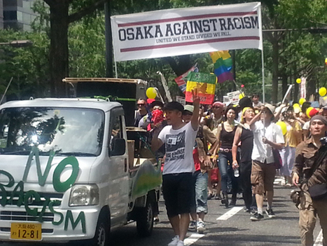 Osaka citizens take to the streets to protest against racism | Socio-economic issues of Japan | Scoop.it