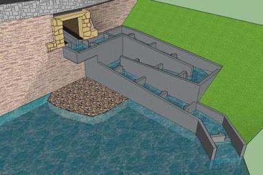 Quévy: 182.000€ pour un escalier à poissons dans le cours d'eau «Le By» | Dialogue Hainaut | Scoop.it