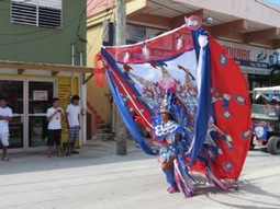 """Independence Day"" in San Pedro, Ambergris Caye, Belize. 
