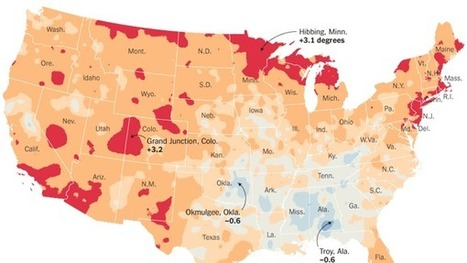 U.S. Climate Has Already Changed, Study Finds, Citing Heat and Floods | Oven Fresh | Scoop.it