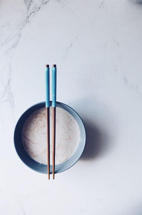 Sticks in blue | My Photo | Scoop.it