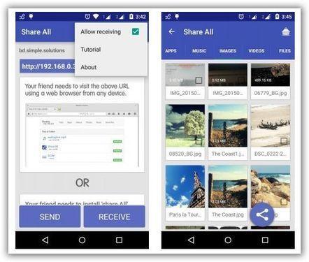 Condividere con Android file foto e video | filesharing | Scoop.it