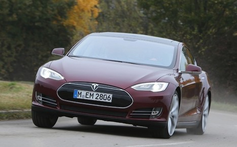 Tesla Model S: the car of the future - Telegraph | News and Current Affairs | Scoop.it