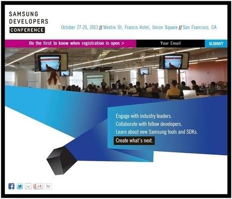 Samsung corteggia gli sviluppatori | My technocorner | Scoop.it