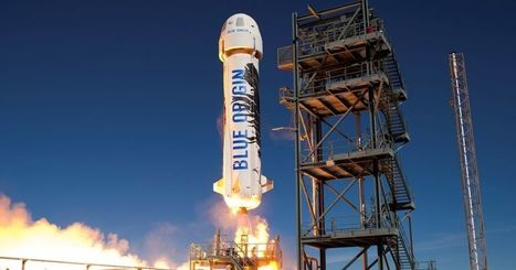 Here's the view from Blue Origin's rocket as it lands | Outbreaks of Futurity | Scoop.it