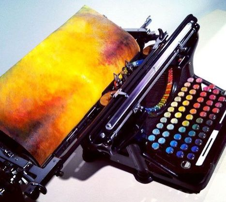 Amazing Typewriter Types Out Art - Unique - Odd Stuff Magazine | Strange days indeed... | Scoop.it