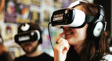 The world's first virtual reality cinema has opened in Amsterdam | CGI Animation and Gaming | Scoop.it