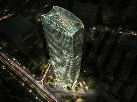[Taiyuan, CHINA] HENN Wins Competition to Build Chinese Tower in Taiyuan | The Architecture of the City | Scoop.it