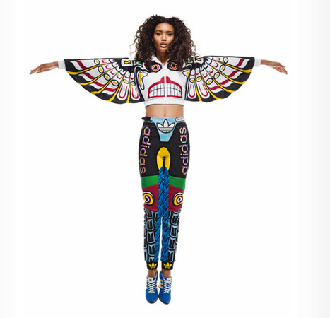 Athletic Wear Inspired by Totem Poles by Adidas Originals | dragonflies | Scoop.it