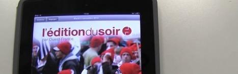 Un journal uniquement sur tablettes : la solution pour Ouest-France ? | La veille de Ouest Médialab | Scoop.it