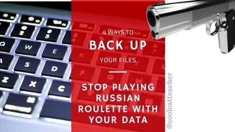 4 Ways to Backup Your Files and Stop Playing Russian Roulette With Your Data @coolcatteacher | EdTechnology | Scoop.it