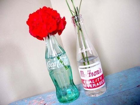 Decoración con botellas de vidrio | Deco! | Scoop.it