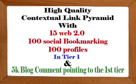 armansto : I will run prominent SEO contextual linkbuilding campaign with high pr link pyramid from different properties penguin and panda safe only for $5 on fiverr.com | buy high quality backlinks | Scoop.it
