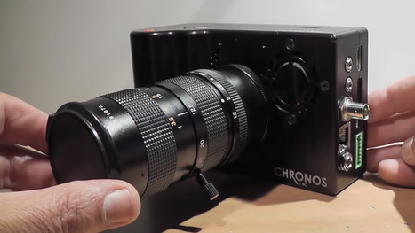 This DSLR-sized camera shoots over 21,600fps and costs only $2,500 - DIY Photography | Heron | Scoop.it