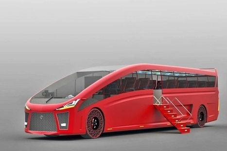 Mach : un concept de bus écologique | Innovations urbaines | Scoop.it