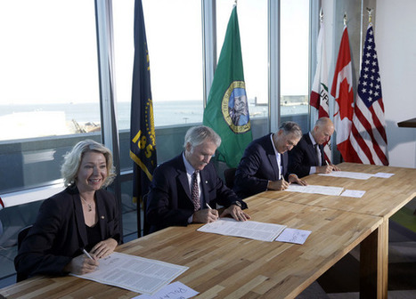 Climate change pact signed by California, Oregon, Washington and British Columbia | Pacific Coast Action Plan on Climate and Energy | Scoop.it