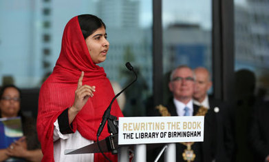 Malala Yousafzai opens new Birmingham library | Librarians in the real world | Scoop.it