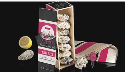 Seven: l'huître par pack de sept de Tarbouriech | Innovation agroalimentaire | Scoop.it