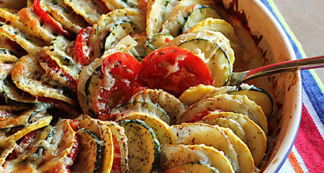 Vegetable Tian   The Man With The Golden Tongs Goes All Out On Health   Scoop.it