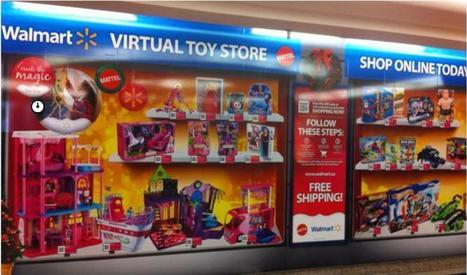 Mattel et Walmart se lancent dans les magasins virtuels | B Kids France | Scoop.it