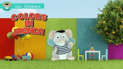 Ratounet sings the colors in French | Learn French online | Scoop.it