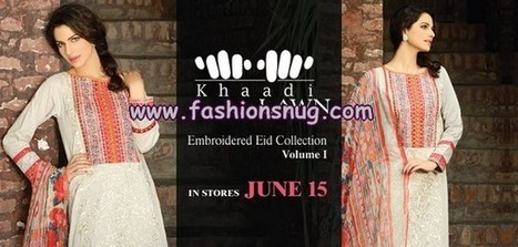 Khaadi Pakistani Eid Dresses For Women 2013 | Fashion Blog | Scoop.it