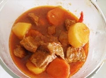 soupe de viande de boeuf cuisine