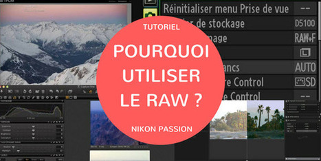 Pourquoi utiliser le RAW et faire du post-traitement | Nikon Passion | CyberClub | Scoop.it