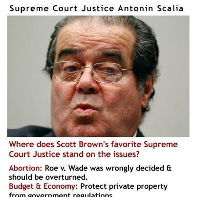 Elizabeth Warren radio ad hits Scott Brown for citing Scalia as his 'modeljustice' | Massachusetts Senate Race 2012 | Scoop.it