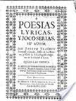 Poesias lyricas, y jocoserias | Diseño y tipografía | Scoop.it