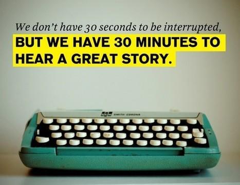 Brand Storytelling   Social Media Today   Branding   Scoop.it