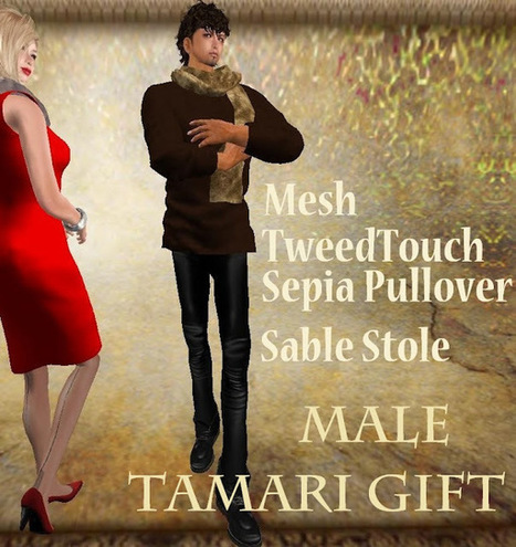 *:et tu:* Collection | Second Life Male Freebies | Scoop.it