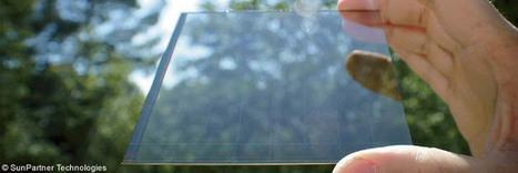 Une fenêtre intelligente, productrice d'électri... | Enjoy Développement Durable | Scoop.it