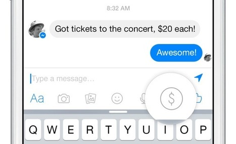 Facebook Introduces Free Friend-To-Friend Payments Through Messages | Social Foraging | Scoop.it
