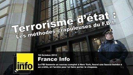 Le FBI déjoue un (faux) attentat à la bombe à New York (France Info) | Nemesis TV | Scoop.it