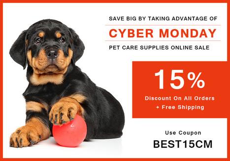 Save Big With Cyber Monday Pet Deals Online Sale | BestVetCare | Pet Care | Scoop.it