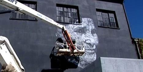 Mister Freeze : le Street art en version monumentale - Francetv info | Richard and Street Art | Scoop.it