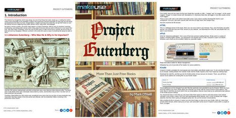 FREE EBOOK: Project Gutenberg – More Than Just Free Books, Mark O'Neill | The Information Professional | Scoop.it