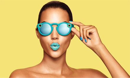 Snapchat unveils $130 connected sunglasses and rebrands as Snap, Inc. | UX-UI-Wearable-Tech for Enhanced Human | Scoop.it