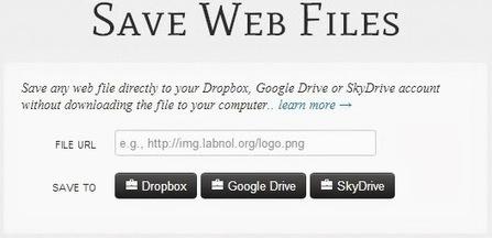 Save Web Files, Guarda archivos instantáneamente en la nube   Profesorado   Scoop.it