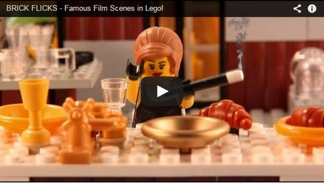 WATCH: Teen Recreates Classic Movie Scenes With Legos | Creativity | MakerED | Maker Spaces | Ideas | ICT lessons | Scoop.it