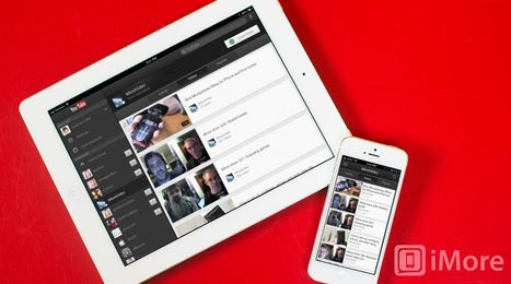 YouTube for iPhone and iPad updated with support for live events | iMore.com | TresPunto0 | Scoop.it