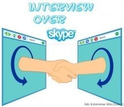 Job Seekers|Skype Interview Preparation | Job Seekers Advice with Street Smarts | Scoop.it