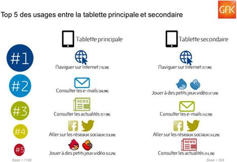 Le marché de la tablette a atteint son pic en France | Clic France | Scoop.it