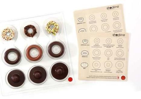 Goloso e di design, è il cioccolatino componibile | Italica | Scoop.it