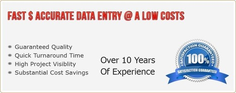 Data Entry-Conversion-processing,Form processing,scanning,Web research | Ask Datatech | Scoop.it